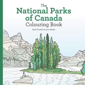National Parks of Canada Colouring Book book image