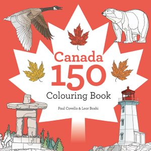 Canada 150 Colouring Book book image