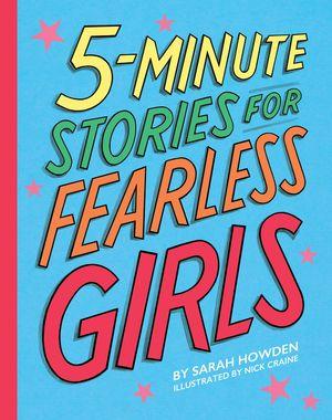 5-Minute Stories for Fearless Girls book image