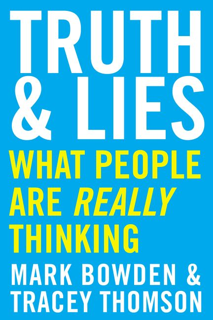Truth And Lies Mark Bowden Paperback