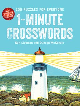 1-Minute Crosswords: 250 Puzzles for Everyone