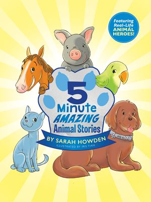 5-Minute Amazing Animal Stories book image