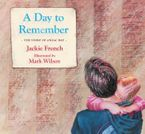 A Day to Remember eBook  by Jackie French