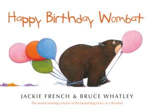Happy Birthday Wombat book image