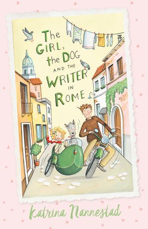 The Girl, the Dog and the Writer in Rome book image