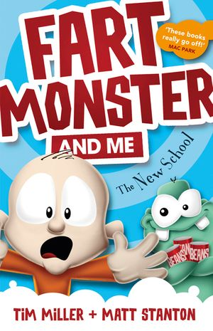 Fart Monster and Me: The New School book image