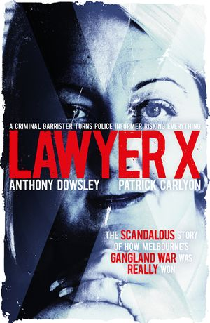 Lawyer X book image