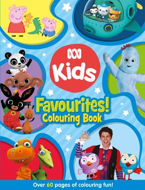 Cover image - ABC KIDS Favourites! Colouring Book (Blue)