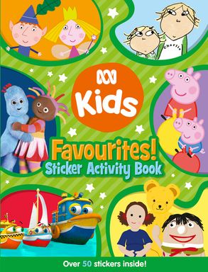 Cover image - ABC KIDS Favourites! Sticker Activity Book