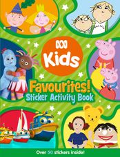 ABC KIDS Favourites! Sticker Activity Book