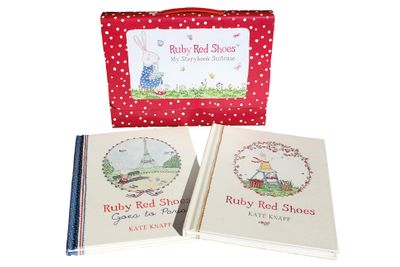 Ruby Red Shoes My Storybook Suitcase
