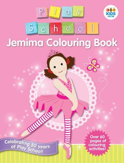 Jemima Colouring Book