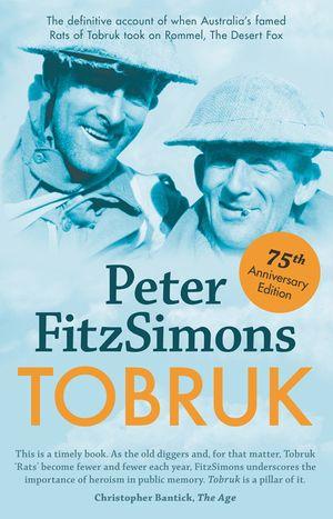 Tobruk 75th Anniversary Edition book image