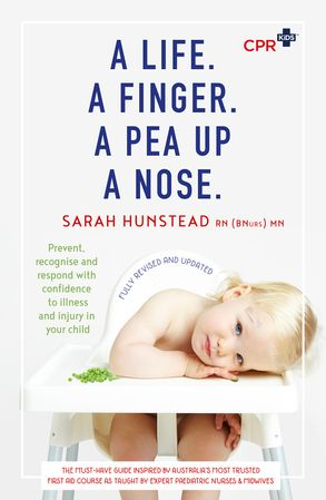 Cover image - A Life. A Finger. A Pea Up a Nose.