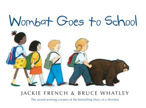 Cover image - Wombat Goes To School