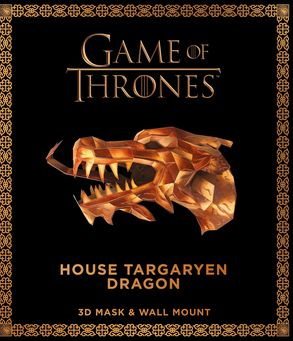 Cover image - Game of Thrones Mask and Wall Mount - House Targaryen Dragon