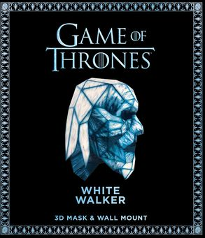 Cover image - Game of Thrones Mask and Wall Mount - White Walker