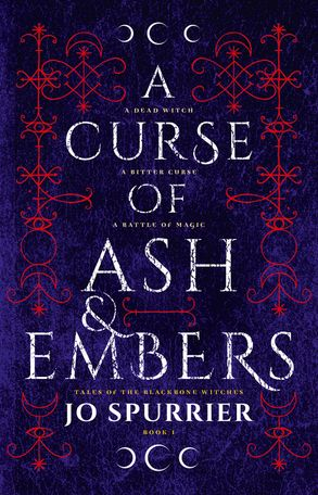A curse of ash and embers cover