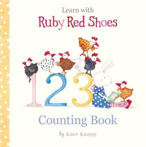 Cover image - Learn with Ruby Red Shoes: Counting Book