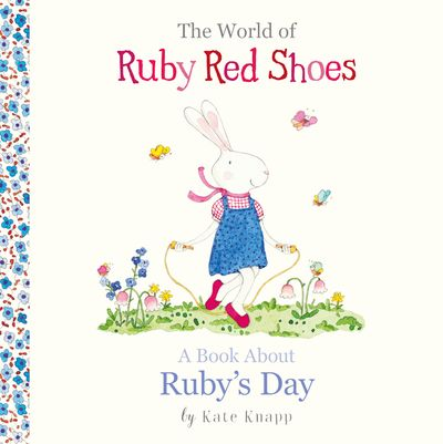 The World of Ruby Red Shoes: A Book About Ruby's Day