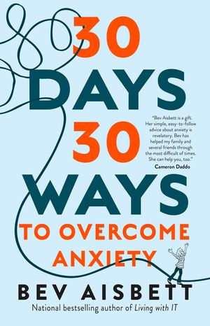 30 Days 30 Ways To Overcome Anxiety US edition book image