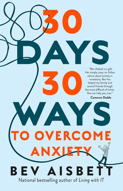 30 Days 30 Ways To Overcome Anxiety US edition