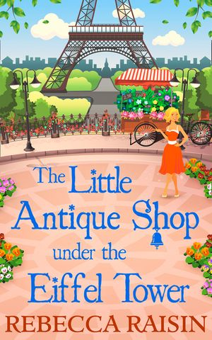 The Little Antique Shop Under The Eiffel Tower book image