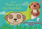 That's not My meerkat Book and Toy Hardcover  by Fiona Watt