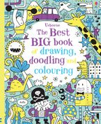 THE BEST BIG BOOK OF DRAWING DOODLING AND COLOURING Paperback  by Various