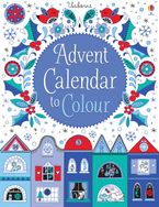 ADVENT CALENDAR TO COLOUR Hardcover  by Jessica Greenwell