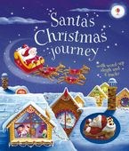 Santa's Christmas Journey with Wind-Up Sleigh - Fiona Watt