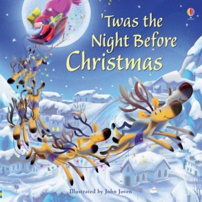 cover image twas the night before christmas