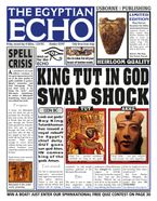 EGYPTIAN ECHO Hardcover  by Paul Dowswell