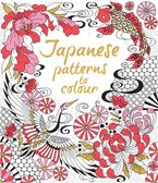 JAPANESE PATTERNS TO COLOUR Paperback  by Laura Cowan