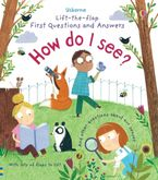 LIFT THE FLAP FIRST QUESTIONS & ANSWERS HOW DO I SEE? Hardcover  by Katie Daynes
