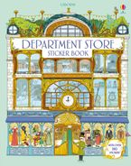 DEPARTMENT STORE STICKER BOOK Paperback  by Minna Lacey