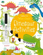 WIPE-CLEAN DINOSAUR ACTIVITIES Paperback  by Kirsteen Robson