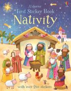Felicity Brooks - First Sticker Book Nativity