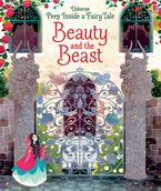 PEEP INSIDE BEAUTY AND THE BEAST BB Hardcover  by Anna Milbourne