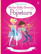 STICKER DOLLY DRESSING POPSTARS Paperback  by Lucy Bowman