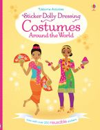 STICKER DOLLY DRESSING COSTUMES AROUND THE WORLD Paperback  by Emily Bone