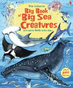 BIG BOOK OF BIG SEA CREATURES Hardcover  by Minna Lacey