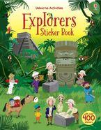 EXPLORERS STICKER BOOK Paperback  by Fiona Watt