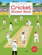 CRICKET STICKER BOOK Paperback  by Emily Bone