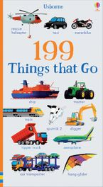 199 Things That Go Paperback  by Jessica Greenwell
