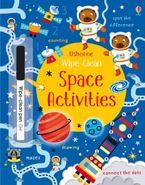 WIPE-CLEAN SPACE ACTIVITIES Hardcover  by Kirsteen Robson