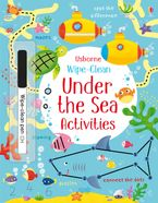 Wipe-Clean Under The Sea Activities Paperback  by Kirsteen Robson