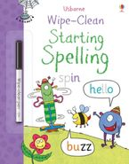 WIPE-CLEAN/WIPE-CLEAN STARTING SPELLING Paperback  by Jane Bingham