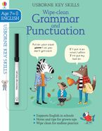 Wipe-Clean Grammar and Punctuation 7-8 - Hannah Watson