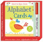 WIPE-CLEAN ALPHABET CARDS Paperback  by Felicity Brooks